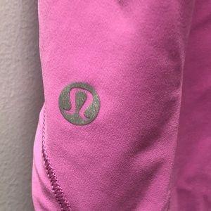 lululemon athletica Tops - Lululemon sz 6 pink tank with mesh